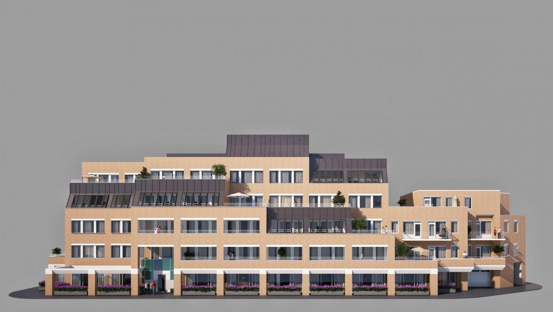 Transformatie van kantoorgebouw naar wooncomplex