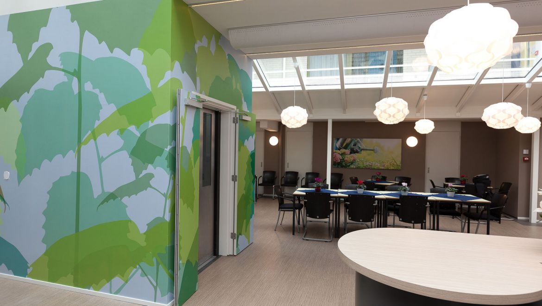 Gezamenlijke ruimte gezondheidscentrum