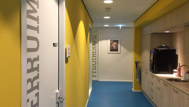 Keuken pantry in medisch centrum Nieuw Zuid