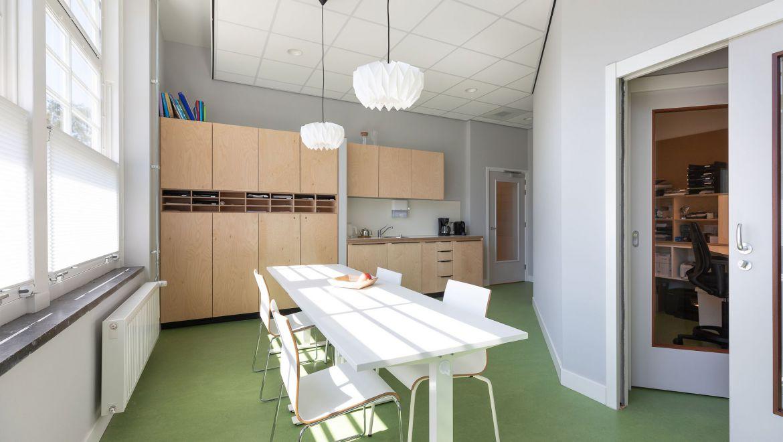 Huisartsenpraktijk Noord in Amsterdam - oud monumentaal schoolgebouw