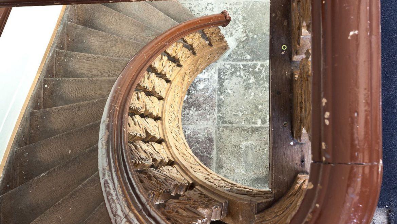 Oude trap intact gehouden