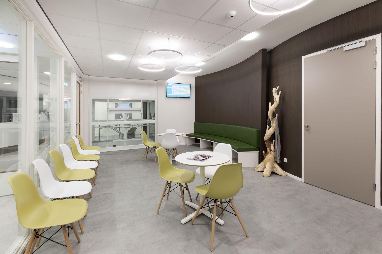 Wachtkamer Huisartsenpraktijk medisch centrum liebergen